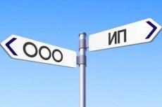 Подготовлю документы для регистрации ИП и ООО 5 - kwork.ru