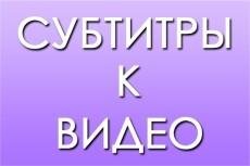 Сделаю субтитры к видео на youtube 16 - kwork.ru