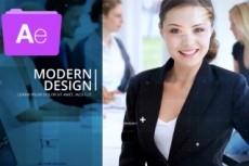 3D Интро - Cube Parallax Logo Reveal 35 - kwork.ru