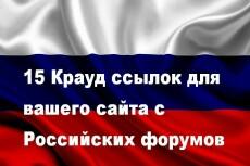 Размещу ссылку сайта на 10 форумах 18 - kwork.ru