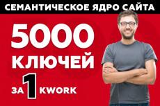 Максимально полное семантическое ядро 25 - kwork.ru