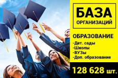 База рекламных агентств 68830 шт 11 - kwork.ru