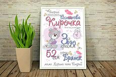 Дизайн квартального календаря с нуля индивидуально 29 - kwork.ru
