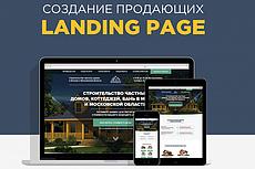 Создам сайт Landing page под ключ с поддержкой адаптации 3 - kwork.ru