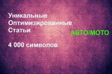 Уникальная статья 4000 символов Товары и услуги 26 - kwork.ru