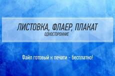 Сделаю листовку, флаер, плакат 13 - kwork.ru