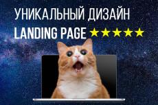 Дизайн Landing Page 18 - kwork.ru