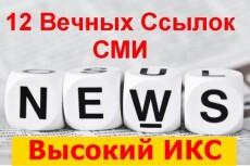 Вечная ссылка с новостного сайта 6 - kwork.ru
