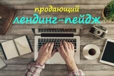 Создание одностраничного сайта-визитки 4 - kwork.ru