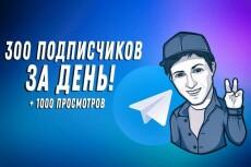 1000 русских подписчиков с просмотрами на telegram 5 - kwork.ru