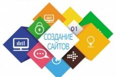 Красивый сайт-визитка за 1 день 15 - kwork.ru