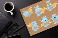 Разработаю дизайн стикеров для Telegram и не только 26 - kwork.ru