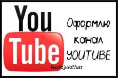 Полное оформление канала YouTube 24 - kwork.ru