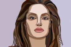 Рисую векторные портреты по фото 18 - kwork.ru