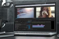 Монтаж, цвето-, светокоррекция видео. Наложение звука, субтитров 23 - kwork.ru