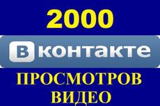 6000 просмотров видео в ВКонтакте 5 - kwork.ru