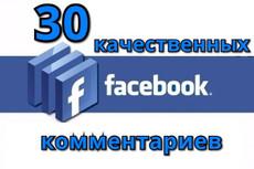 50-60 рекомендаций для страницы FanPage в Facebook Бонусы всем 12 - kwork.ru