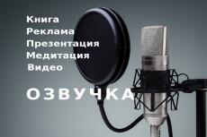 Озвучу книгу по вашему заказу 5 - kwork.ru