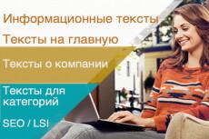 Напишу текст о моде 5 - kwork.ru