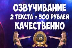 Профессионально озвучу текст для рекламы, презентации, видеоролика 11 - kwork.ru