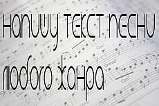 Напишу текст на русском языке для песен на английском, с похожим смыслом 7 - kwork.ru