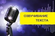Озвучка текста 15 - kwork.ru