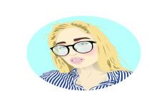 Нарисую в своём стиле портрет для стикера, баннера в Вк, или аватарки 11 - kwork.ru