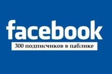 Добавлю 3000 подписчиков на паблик FanPage в Facebook 19 - kwork.ru