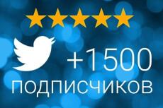 Комплексное продвижение в Твиттер - 50 подписчиков 11 - kwork.ru