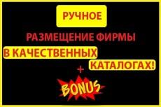 Регистрация в 50 каталогов сайтов 22 - kwork.ru