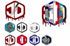 Логотип в технике акварель 16 - kwork.ru