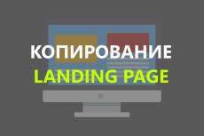 Лендинг пейдж под ключ с настройкой форм и установкой на хостинг 17 - kwork.ru
