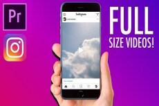 Сделаю видео для Instagram 11 - kwork.ru