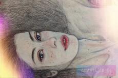 Портрет карандашом 20 - kwork.ru