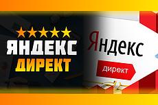 Настройка рекламной компании в Яндекс. Директ 22 - kwork.ru