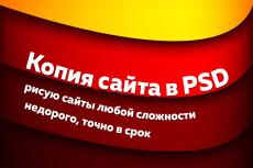 Создам копию макетов из любого формата  в PSD 3 - kwork.ru