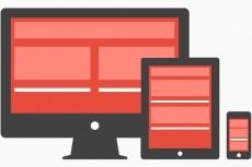 Верстка сайтов html + css из вашего PSD макета 4 - kwork.ru