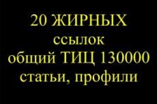 Напишу статью с вашей ссылкой и опубликую на сайте с ТИЦ от 1000 4 - kwork.ru