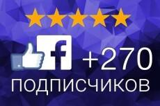Добавлю 500 активных русскоязычных подписчиков на паблик в Facebook 9 - kwork.ru