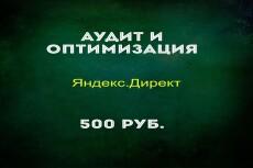Аудит кампании Яндекс. Директ 5 - kwork.ru
