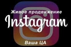 Продвижение и раскрутка аккаунта instagram 2 - kwork.ru