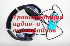 Предоставляю услугу перепечатки текста из аудио и видеозаписей 23 - kwork.ru