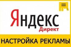 Настрою Яндекс. Директ + метрика и цели в подарок 16 - kwork.ru