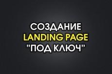 Сделаю лендинг под ключ 24 - kwork.ru