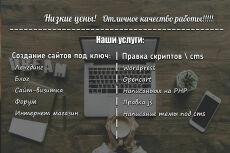 Лендинг под ключ 21 - kwork.ru