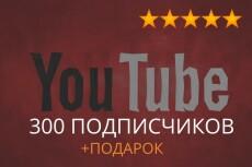 400 качественных подписчиков YouTube. Гарантия от списания 13 - kwork.ru