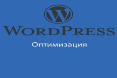Ускорение работы сайты на WordPress 15 - kwork.ru