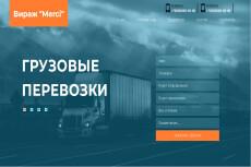 Готовый сайт Landing Page Услуги патронажа 20 - kwork.ru