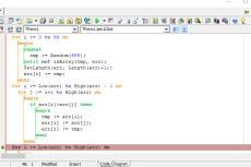 Напишу программу на Pascal ABC. NET 26 - kwork.ru