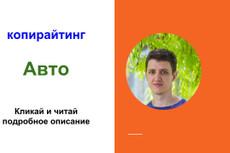 Напишу текст на автомобильную тематику 4 - kwork.ru